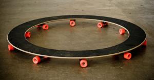 Skate redondo